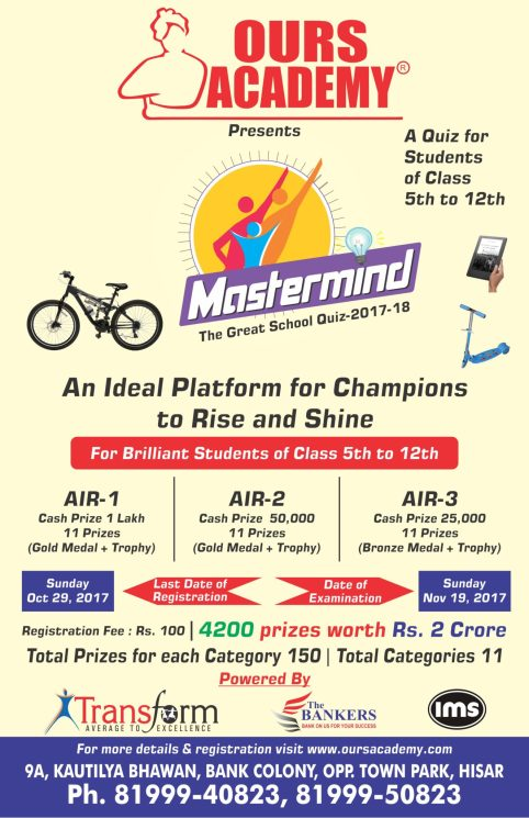 Mastermind Program at Ours Academy